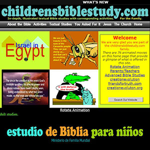 Childrens Bible Study, Responsive web design