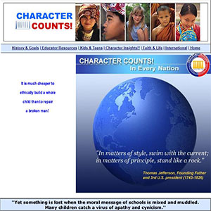 LCU Character Counts!