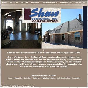 Shaw Ventures Hobbs NM