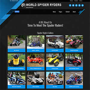 World Spyder Ryders
