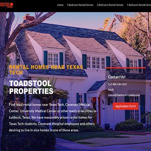 Toadstool Properties, Lubbock, Texas
