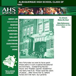 Albuquerque High 1953