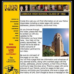 Lubbock High 1955