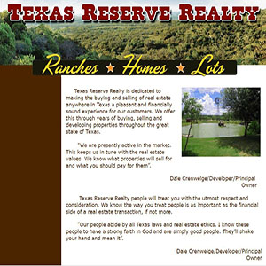 Texas Reserve Realty, Texas