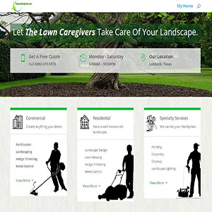 The Lawn Caregivers, Lubbock, Texas
